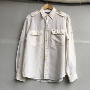 Polo Ralph Lauren linen safari shirt (100)