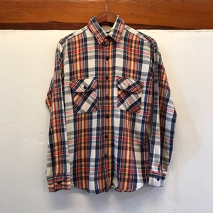 Five brothers heavy cotton plaid shirt (95-98)