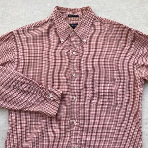 sugar cane check buttondown shirt (100 size)
