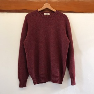 Jpress Scotland new wool crew neck sweater (100-105)