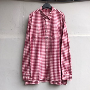 Martinez Francois girbaud  cotton check pocket shirt (105-110)