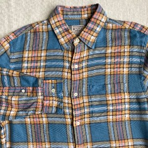 jcrew check flannel shirt (95 size)