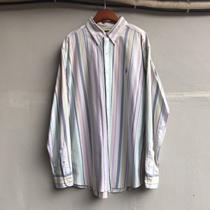 Polo Ralph Lauren ocbd stripe shirt (105)