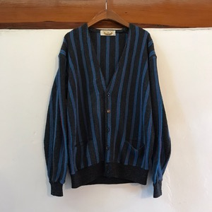 Renown stripe acrylic/wool cardigan (95-100)