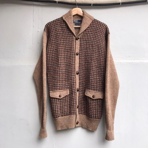 Polo Ralph Lauren wool shawl collar cardigan (데미지 많음)