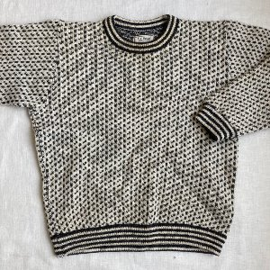 ll bean norwegian crewneck sweater (100 size)