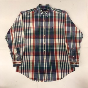 Polo Ralph Lauren cotton plaid bd shirt (100-110)