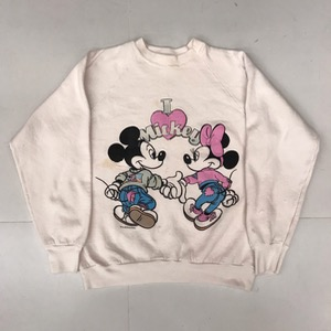 Vtg 50/50' sweatshirt ' Mickey & Minnie ' (95-100)