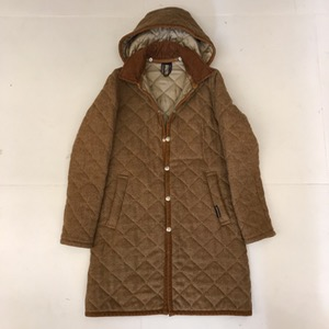 Lavenham wool quilted lining coat with hoodie (for women)