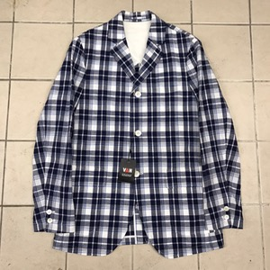 Van cotton/linen plaid 3B sport jacket 새상품 (95)