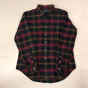 Polo Ralph Lauren cotton plaid bd shirt (105)