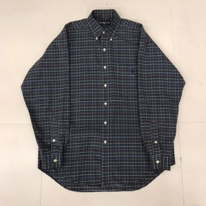 Polo Ralph lauren cotton plaid big shirt (100-105)