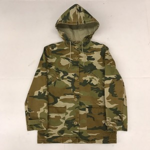 Apc heavy cotton woodland camouflage hooded jacket (for women , 95)