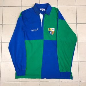 Nokia color block embroidered rugby shirt (105-110)