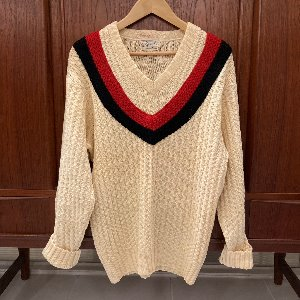 50s cricket sweater (105 size)
