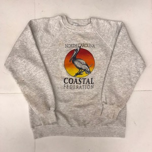Hanes 50/50 sweatshirt ' North Carolina coastal federation ' (for women)