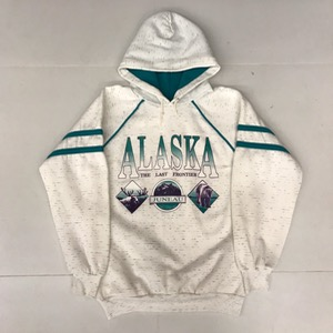 Bay bridge 50/50 hoodie ' Alaska the last frontier ' (95)