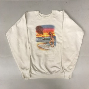 Fruit of the room 50/50 sweatshirt ' the woman on the beach ' (105 이상)