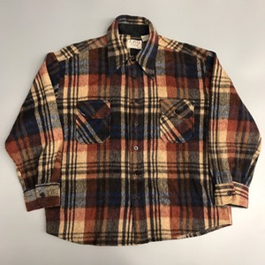 Cpo by campus wool/acrylic plaid shirt (105)