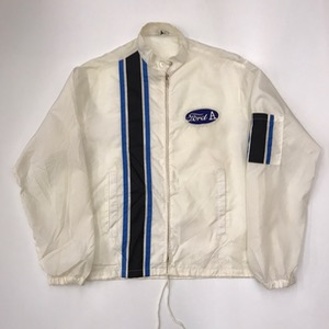 vtg nylon embroidered racing jacket 'ford A' (100)