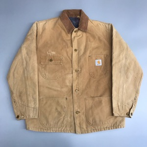Carhartt blanket lined duck canvas workwear jacket (105)