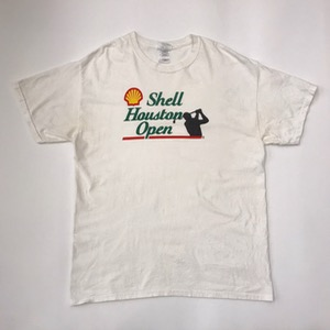 Cotton t-shirt ' shell Houston open ' (100-105)