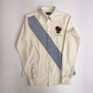 Ralph Lauren rugby embroidered ocbd shirt (95, for women)