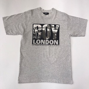 Vtg Boy London cotton t-shirt made in usa (100, dead stock)