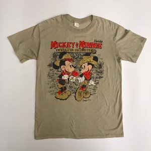 80s 50/50 mickey & minnie t shirt (100)