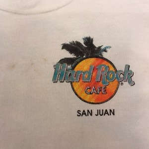 vtg hard rock cafe san juan t shirt (95-100)