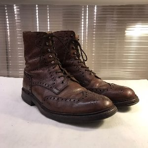 crockett & johns brogue boots (uk 8, 270mm)
