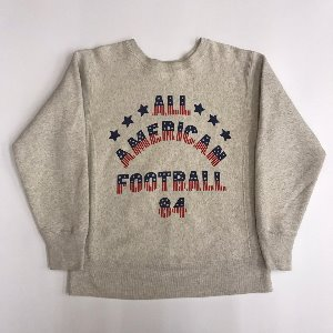 champion reverse weave sweatshirt ' all American football 84 '