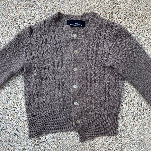 tricot comme des garcons wool knit cardigan (55 size)